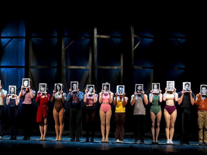 A Chorus Line, Lighting Design by Kirk Bookman