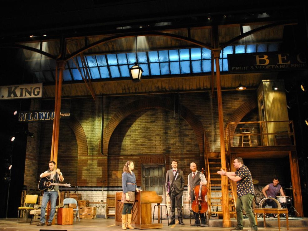 Once, Scenic Design by David Arsenault
