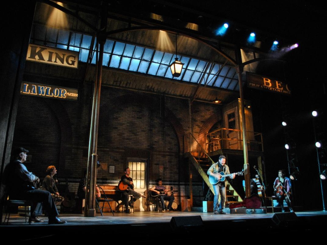 Once, Lighting Design by Kirk Bookman
