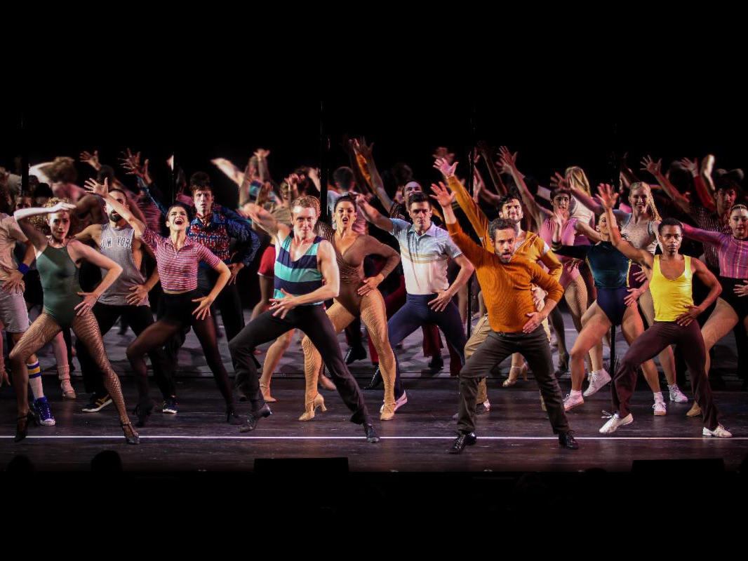 A Chorus Line, Scenic Design by Adam Koch