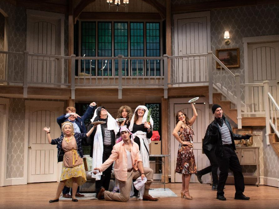 Noises Off, Costume Design by Dustin Cross