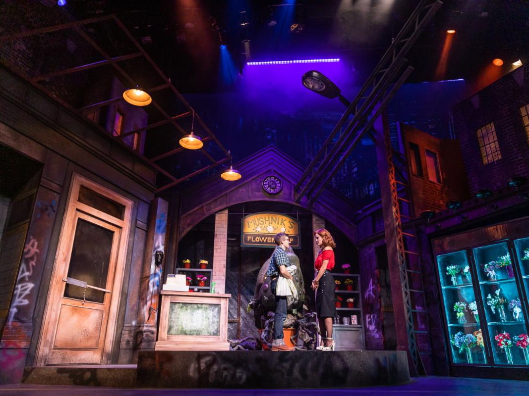 Little Shop of Horrors, Lighting Design by Jaron Hermansen