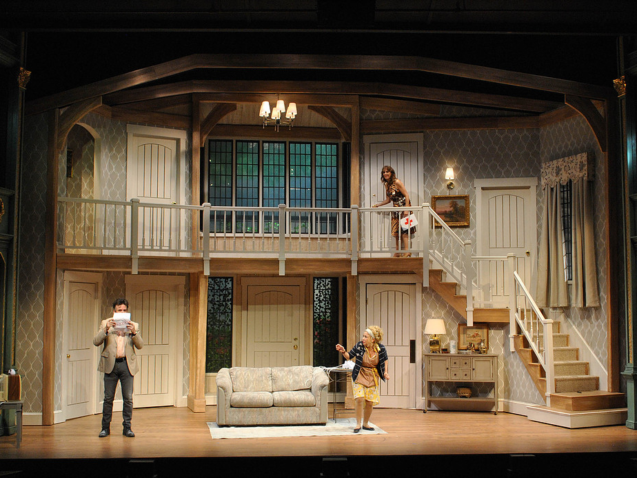 Noises Off, Scenic Design by David Arsenault