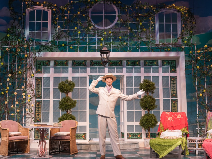 The Importance of Being Earnest, Scenic Design by Rob Ordorsio