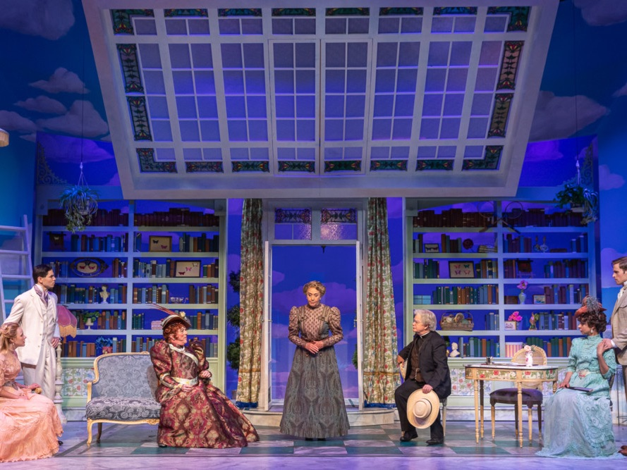 The Importance of Being Earnest, Lighting Design by Jaron Hermansen